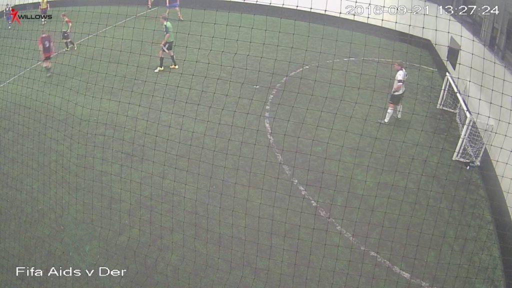 271707 Arena3G Willows Sports Centre Cam7 Fifa Aids v Derby Seahawks Arena3G Willows Sports Centre