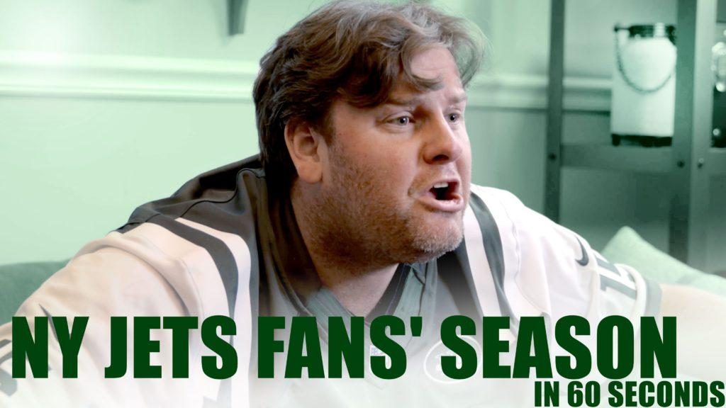 NY Jets Fans' Season in 60 Seconds