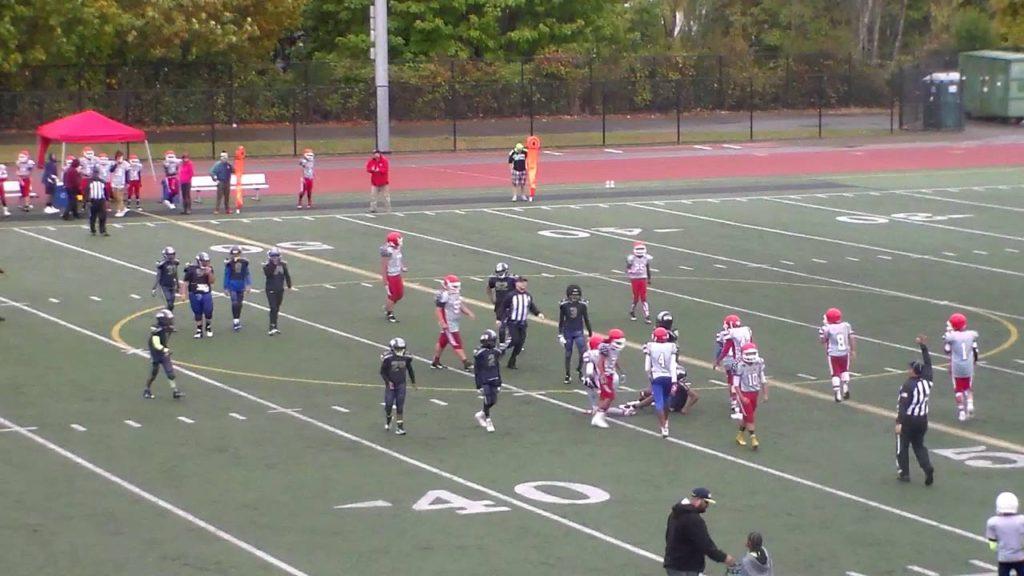 SWAC Cougars vs Jr Seahawks 2016 Seniors