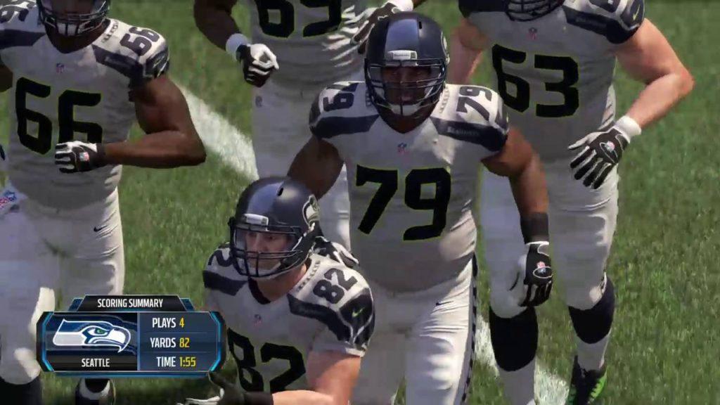 Madden 16 Seahawks Vs. Packers