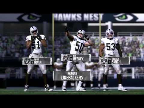 Madden 17 Oakland Raiders vs Seattle Seahawks