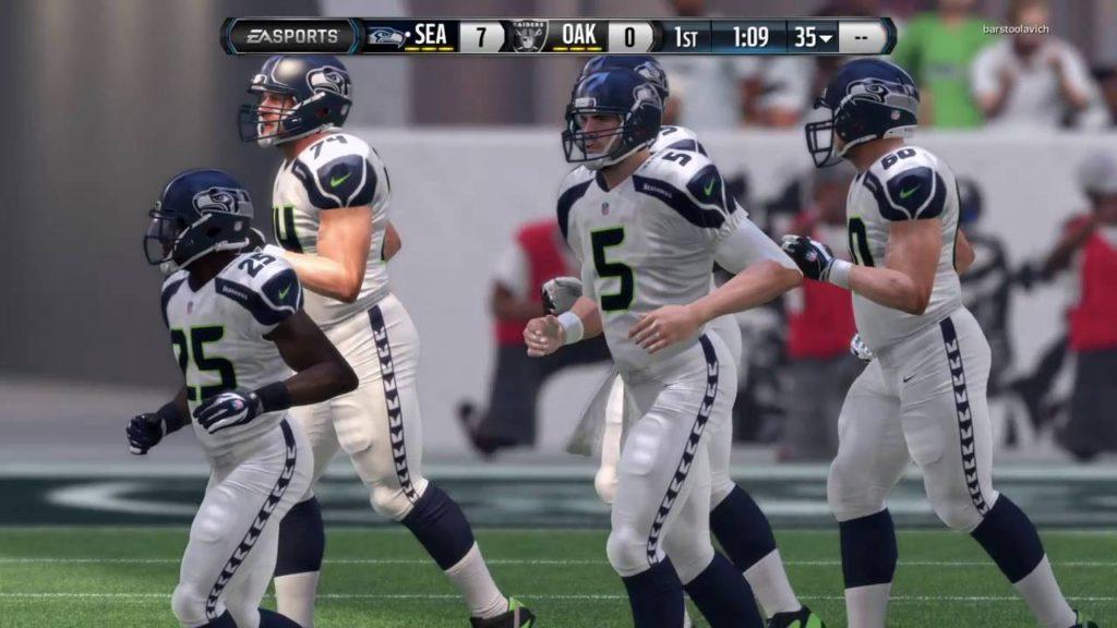 CLOSE GAME!!! SEAHAWKS vs RAIDERS|Madden NFL 16