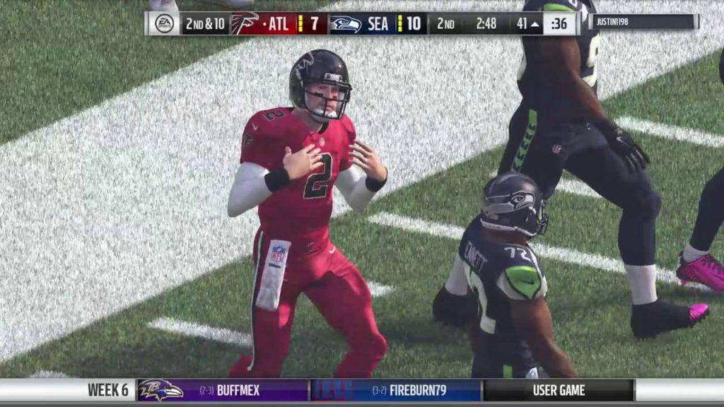 Union falcons vs seahawks