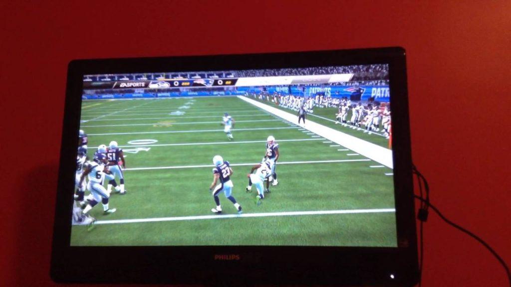 Madden NFL patriots vs Seahawks