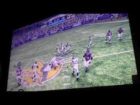 Armin Narro old school Vikings vs Seahawks 4th Qtr Video 2350