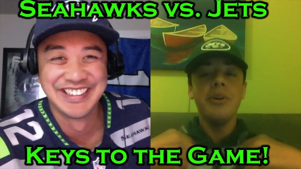 Seahawks vs Jets: Keys to the Game, loser pays up!