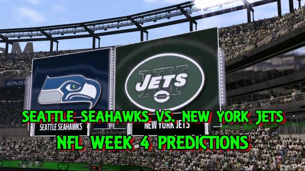 SEATTLE SEAHAWKS VS. NEW YORK JETS PREDICTIONS | #NFL WEEK 4 | FULL GAME