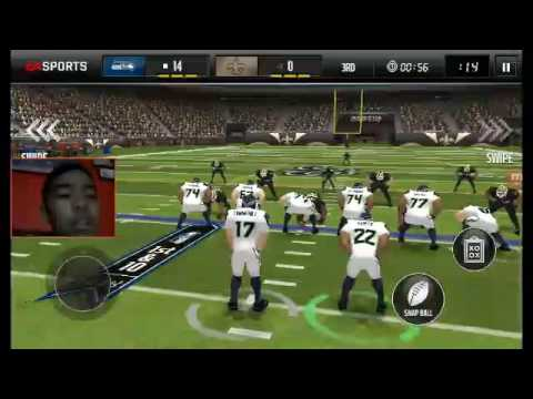 Maden mobile Seahawks vs saints episode 1