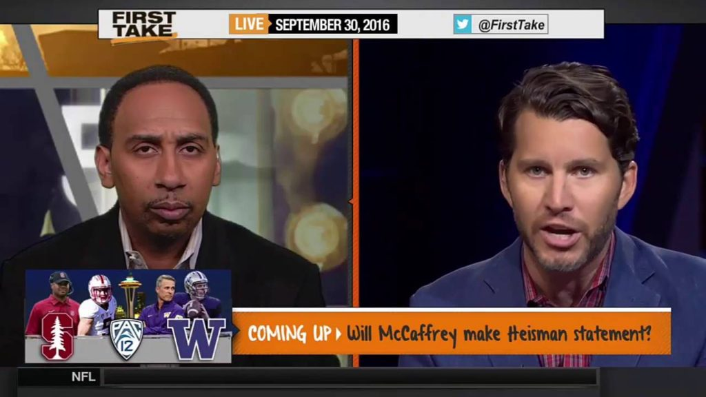 ESPN First Take – Seahawks Confident Russell Wilson Will Play vs. Jets