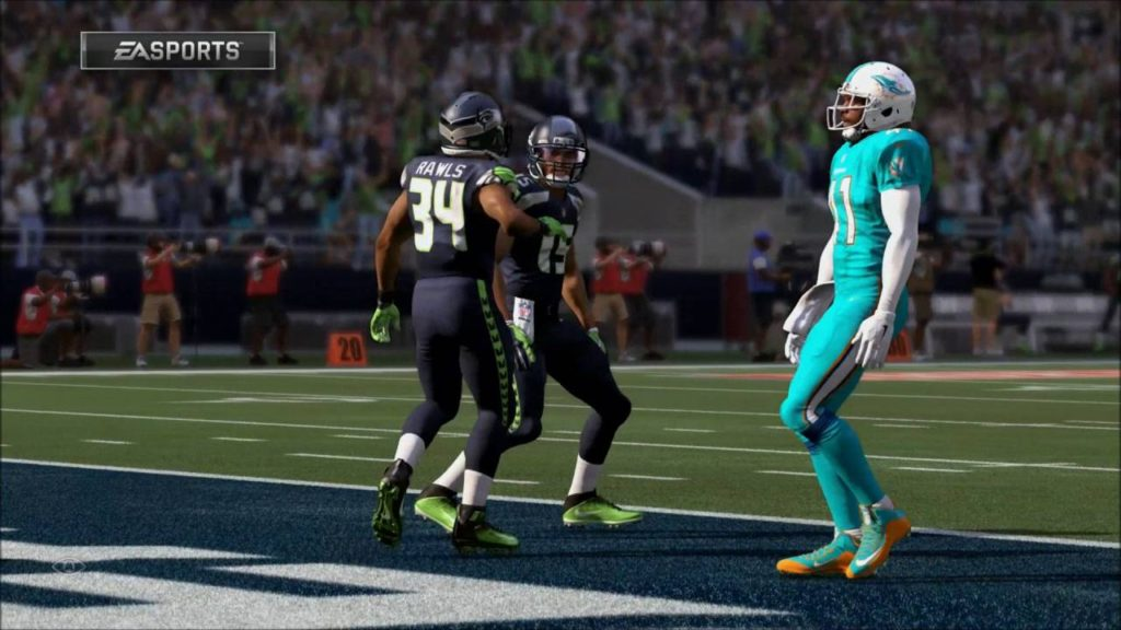 Miami Dolphins vs Seattle Seahawks #Madden17 Week1 #PS4