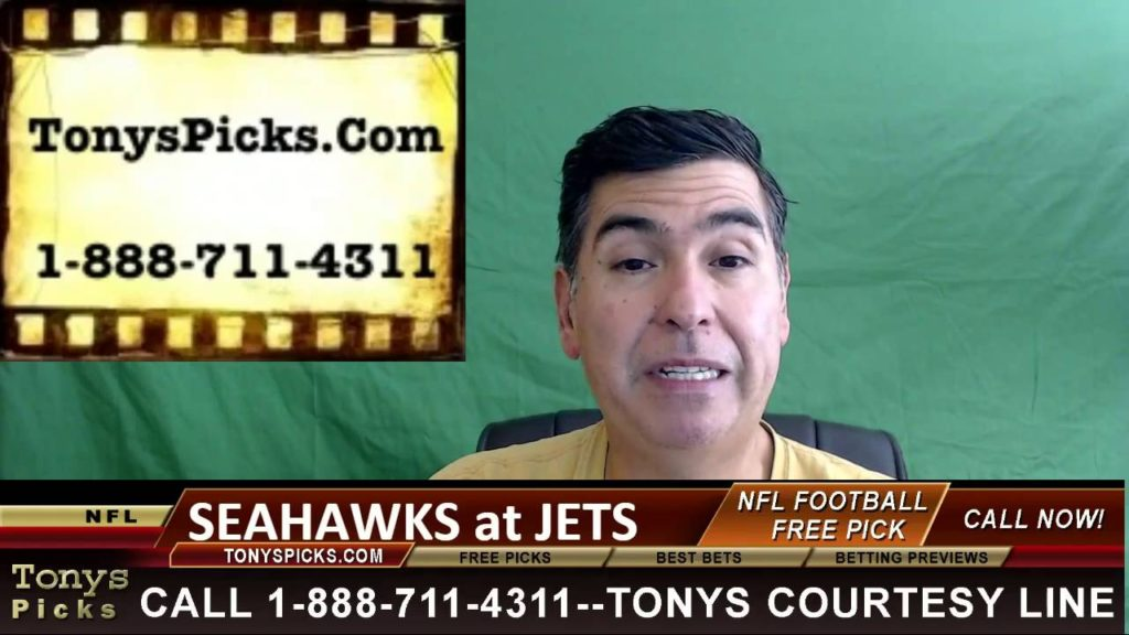 SEATTLE SEAHAWKS VS  NEW YORK JETS PICK PREDICTION NFL PRO FOOTBALL ODDS PREVIEW 10 2 2016