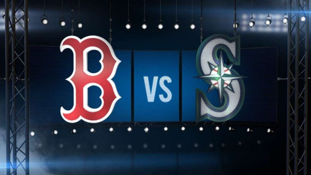 8/3/16: Mariners blast three homers to down Red Sox