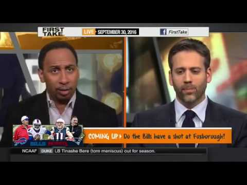 ESPN FIRST TAKE TODAY FULL SHOW 9/30/2016 PATRIOTS,BILLS,SEAHAWKS,JETS,COWBOYS,49ERS,CHIEFS,STEELERS