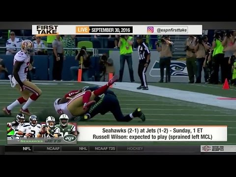 ESPN First Take – Seahawks vs Jets: Who Will Win?