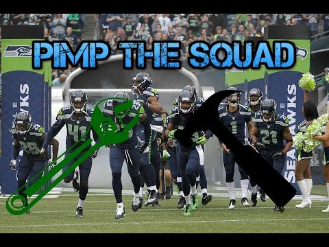 Pimp the squad today I fix the Seahawks Offensive line.