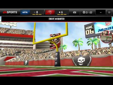 Seahawks vs buccaneers  (madden mobile)