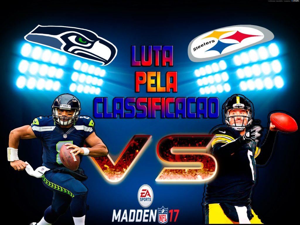 Madden Mobile 17 Pittsburgh Steelers X Seattle Seahawks SCORE 1 – 4
