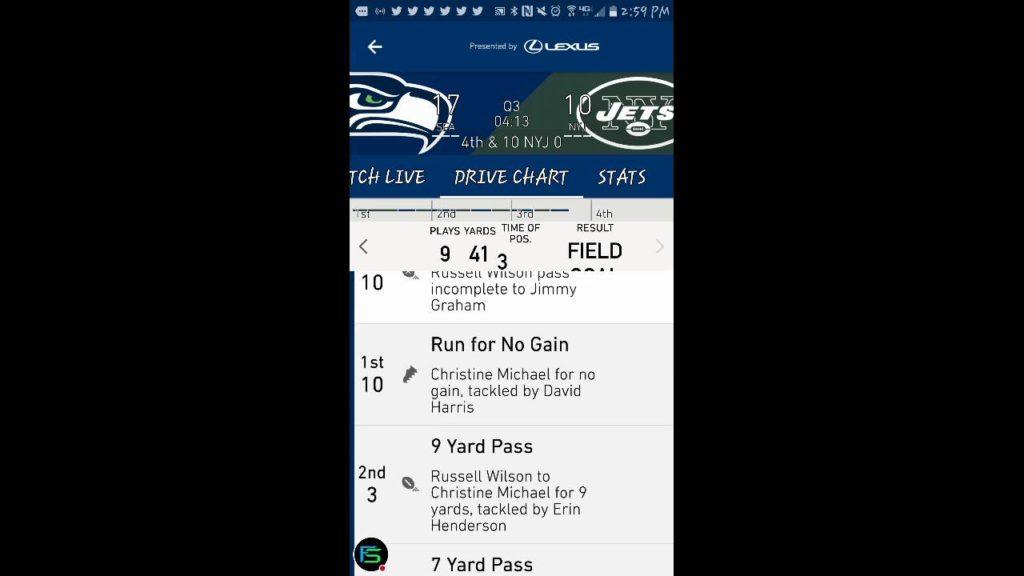 Seahawks vs. Jets