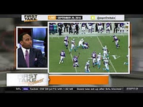 ESPN First Take Today – NFL Week 3: Vikings vs Panthers(22-10) & Seahawks vs 49ers(37-18)