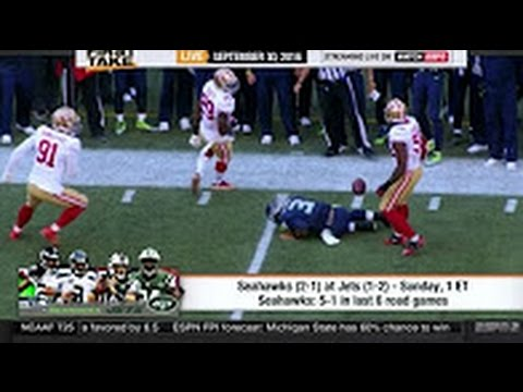 ESPN First Take Today – NFL Week 4: Seahawks vs Jets | Who Win? Russell Wilson expected to play