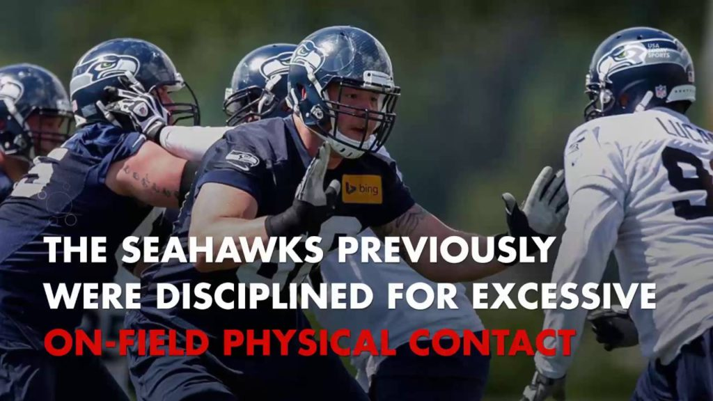 Seahawks fined, lose draft pick for violating contact rule