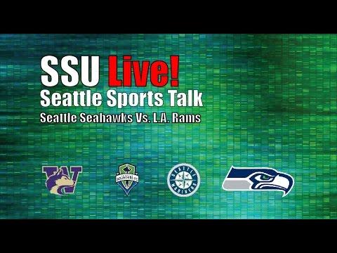 SSU Live: Seahawks Game 4 –  Jimmy Graham's Seaplane Flies Circles Around Jets