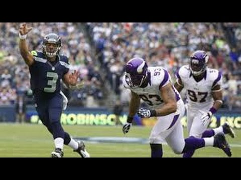 Seattle Seahawks vs Minnesota Vikings Full Game NFL 2016 NFC Wild Card