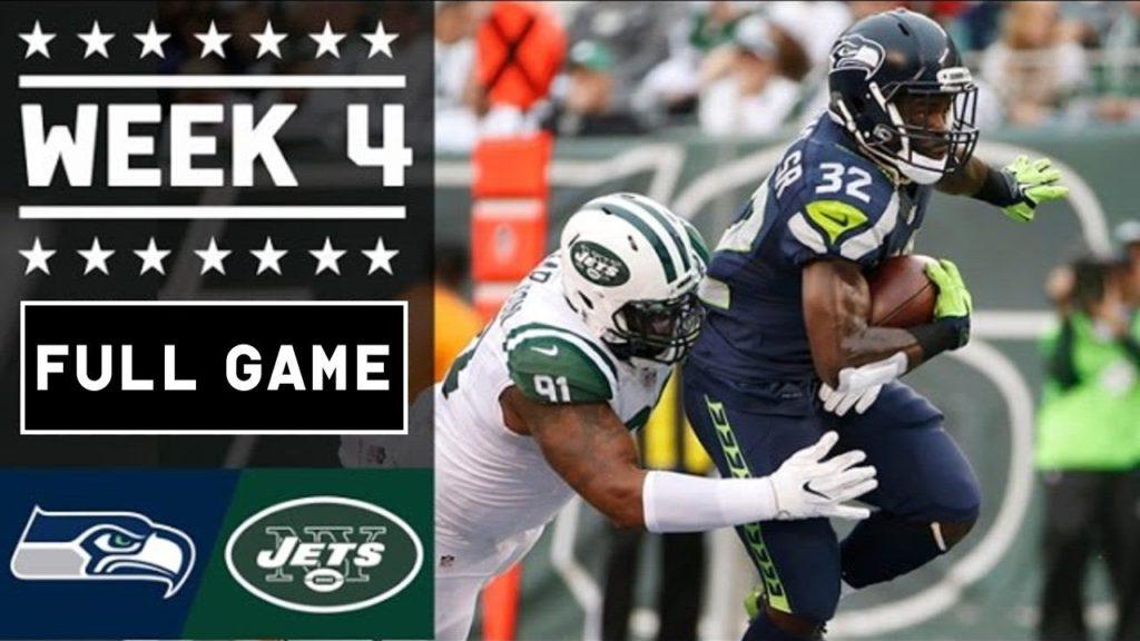 Seattle Seahawks vs New York Jets Full Game Week 4 NFL Replay – October 02, 2016