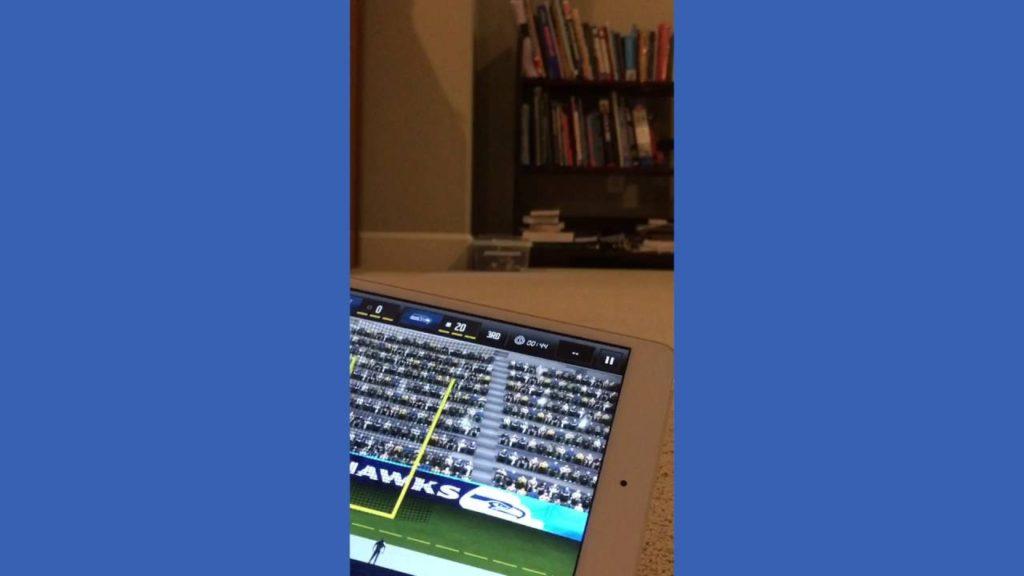 Seattle Seahawks Vs New England Patriots- Madden Super Bowl
