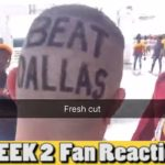BEST NFL FAN REACTIONS Compilation Week 2