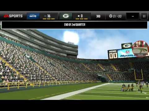 Seahawks vs Packers (madden mobile) pt2