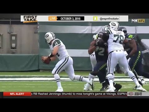 ESPN First Take – Seahawks Improve To 3-1, Win 27-17 Over New York Jets
