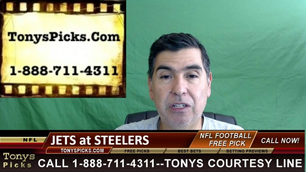 New York Jets vs. Pittsburgh Steelers Pick Prediction NFL Pro Football Odds Preview 10-9-2016