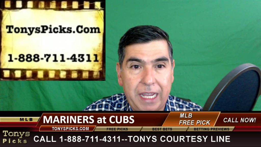 Seattle Mariners vs. Chicago Cubs Pick Prediction MLB Baseball Odds Preview 7-31-2016