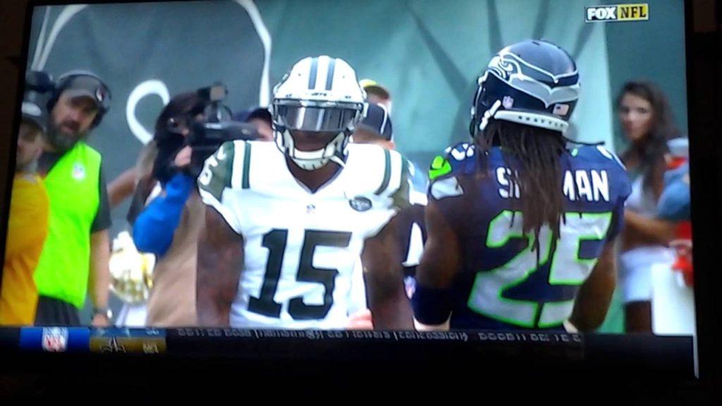 Seattle versus New York Jets