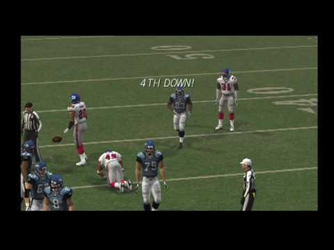 Madden 09 IN HD Week 5 Seahawks Vs Giants PART 1