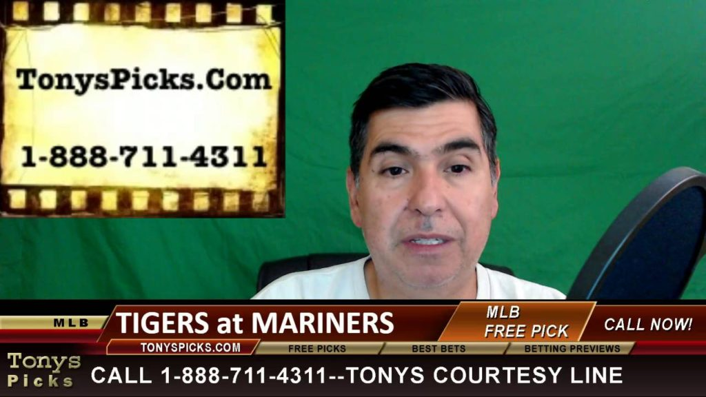 Detroit Tigers vs. Seattle Mariners Pick Prediction MLB Baseball Odds Preview 8-9-2016