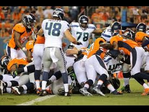 Denver Broncos vs Seattle Seahawks NFL 2014 Super Bowl XLVIII