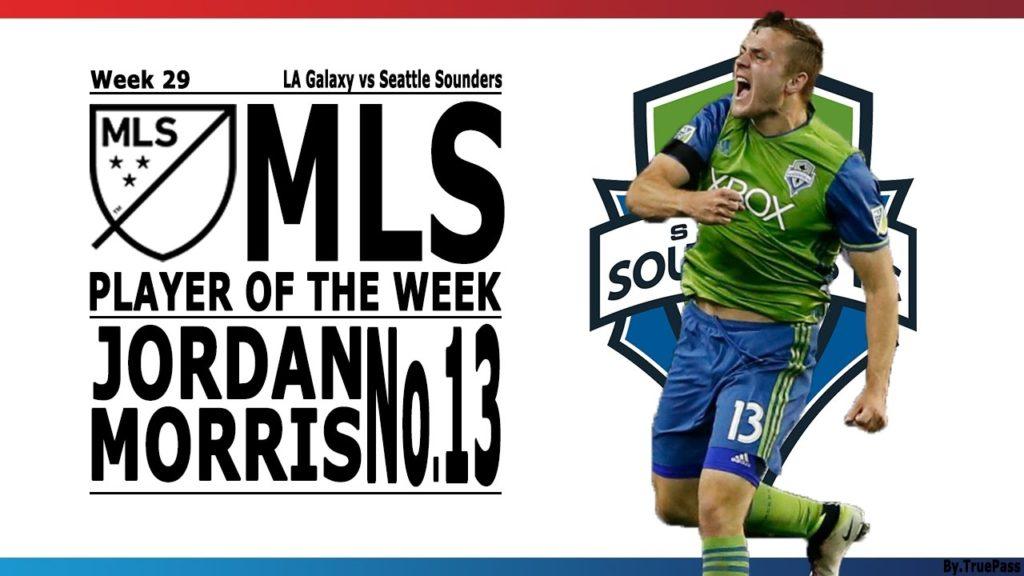 MLS 2016 Player of the Week 29 l Jordan Morris – Seattle Sounders Highlights