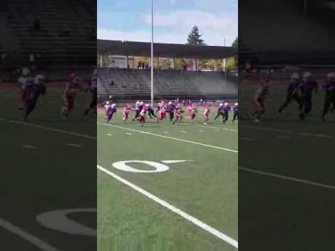 Knowledge Wright (Seattle,Wa) 7U Youth Football #2