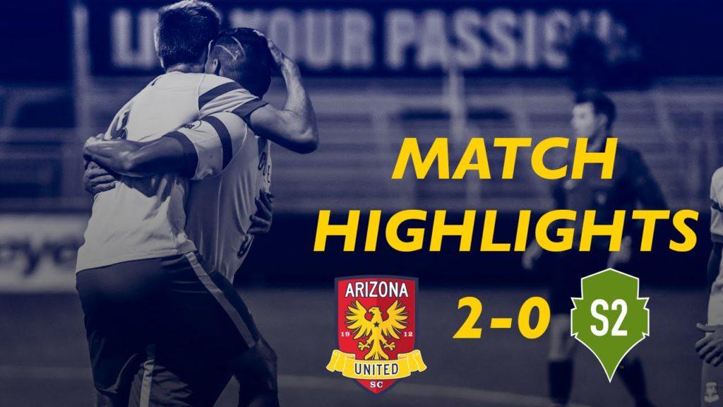 MATCH HIGHLIGHTS: Arizona United SC 2-0 Seattle Sounders 2 3/30/16