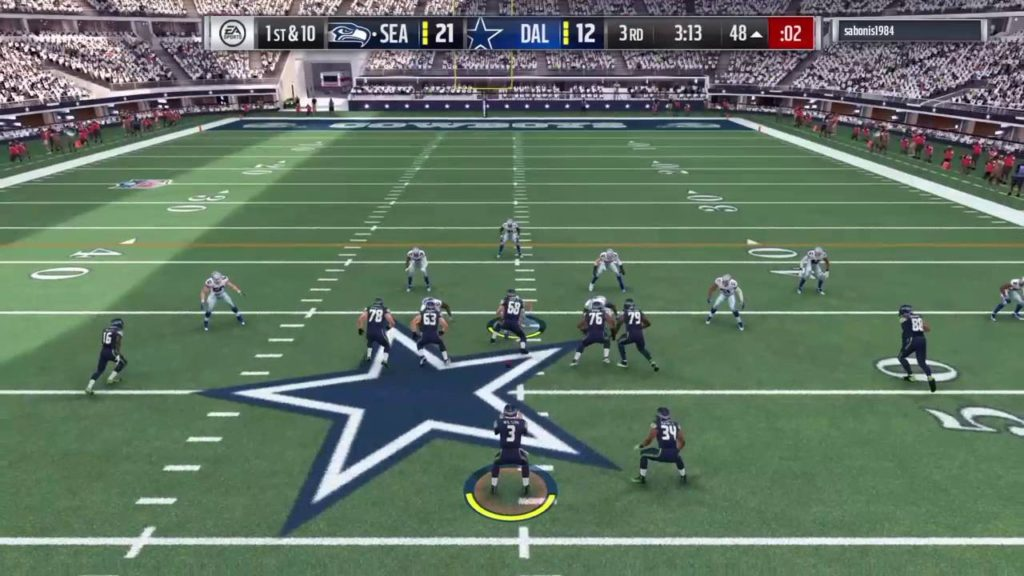Some mo' highlights…Madden 17 Seahawks