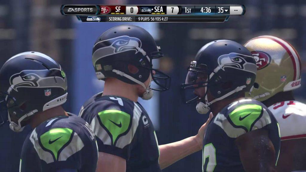 Madden 16 seahawks vs 49ers