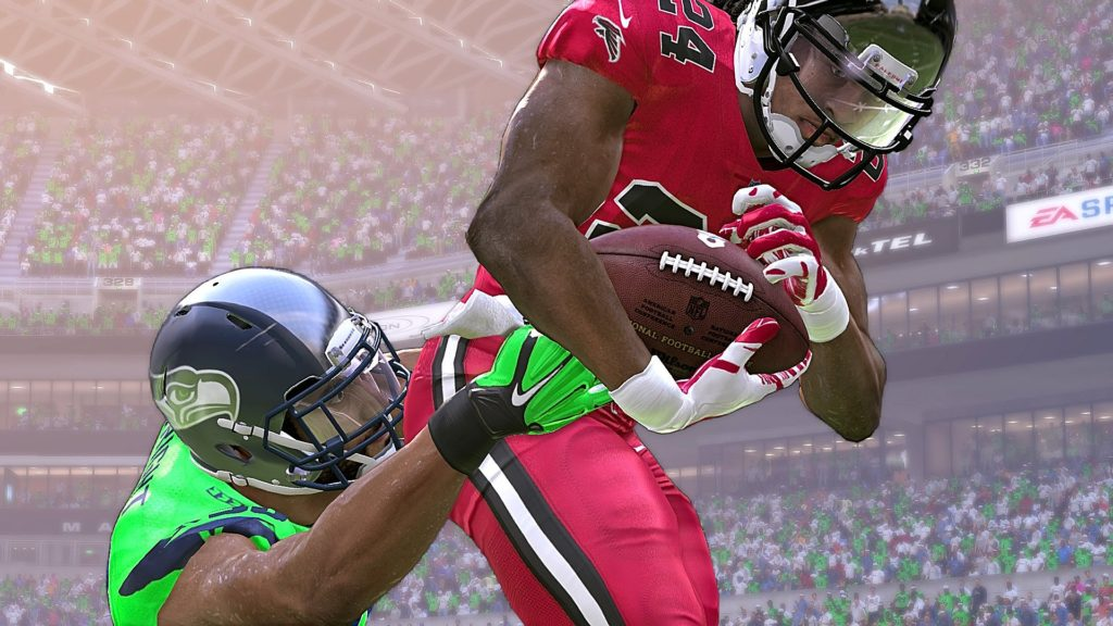 Madden 17 Seattle Seahawks vs Atlanta Falcons Connected Franchise Week 6 NFL Game Play Xbox One