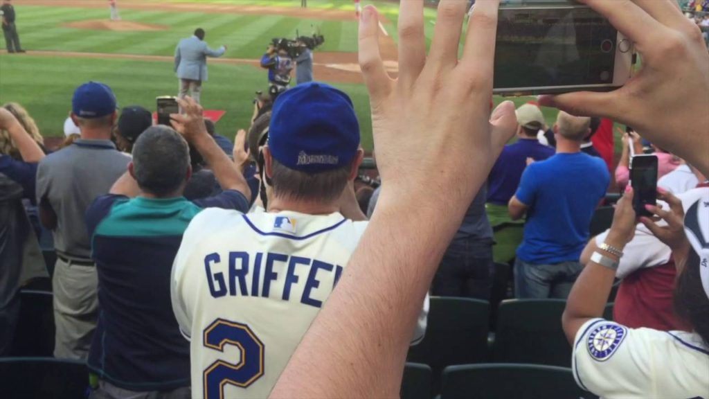 Ken Griffey Jr 2016 Mariners Game