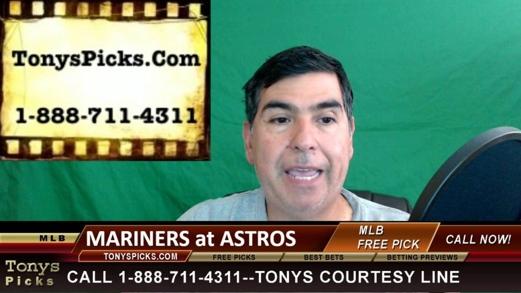Seattle Mariners vs. Houston Astros Pick Prediction MLB Baseball Odds Preview 7-6-2016