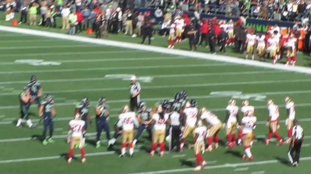 SEAHAWKS Beat The 49ers Sept 22, 2016 [Touch Down #88 Jimmy Graham]