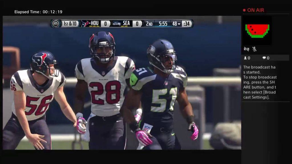 Seahawks.Vs.Texans gameplay