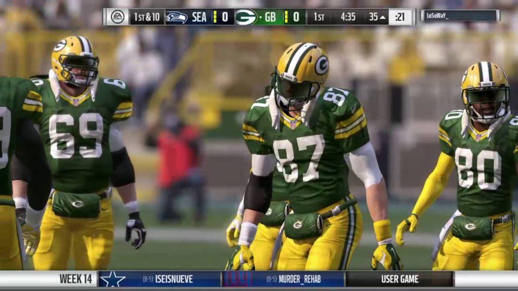 Packers vs Seahawks Week 14