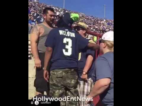 Los Angeles Rams fan gets into fist fight with Seahawks fan